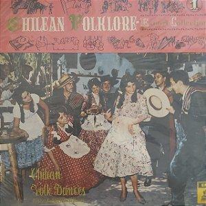 LP - Chilean Folk Dances - Danzas Folklóricas Chilenas - (Vários artistas) (Importado Chile)