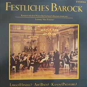 LP - Neues Bachisches Collegium Musicum – Festliches Barock (Importado GDR)