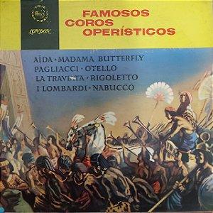 LP - Famosos Coros Operísticos (Vários Artistas)