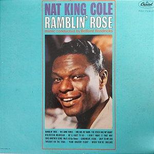 LP - Nat King Cole – Ramblin' Rose (Importado US)