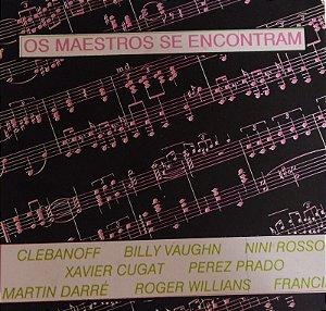 CD - Os Maestros Se Encontram (Vários Artistas)