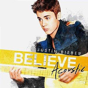CD - Justin Bieber - Believe Acoustic - Lacrado