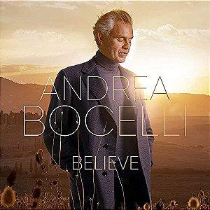 CD - Andrea Bocelli – Believe (Lacrado)