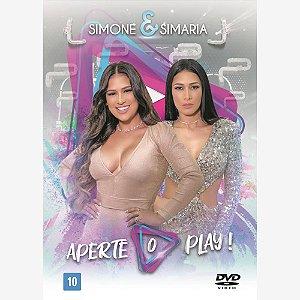 DVD - SIMONE & SIMARIA - APERTE O PLAY!  (LACRADO)