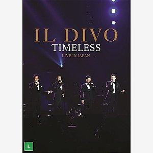 DVD - IL DIVO - TIMELESS LIVE IN JAPAN (LACRADO)