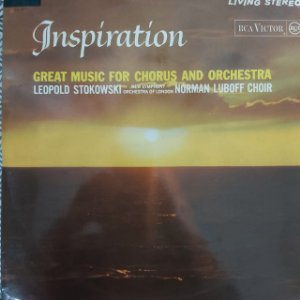 LP - The New Symphony Orchestra Of London  - Inspiration Great Music For The Chorus And Orchestra
