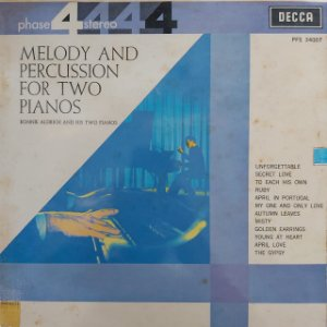 LP - Ronnie Aldrich And His Two Pianos – Melody And Percussion For Two Pianos (Importado US)