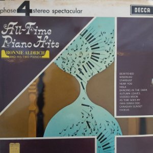 LP - Ronnie Aldrich And His Two Pianos – All-Time Piano Hits (Importado US)