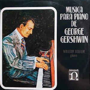 LP - George Gershwin – Piano Music By George Gershwin