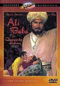 DVD - Ali Babá e os quarenta ladrões