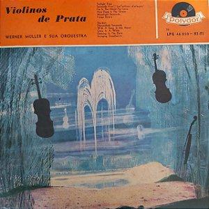 LP - Werner Muller e sua orquestra - Violinos de Prata
