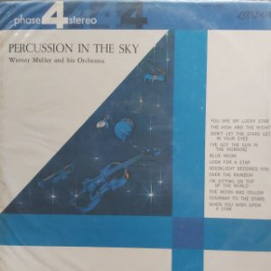 LP - Ronnie Aldrich And His Two Pianos - Percussion For Two Pianos (Importado US)