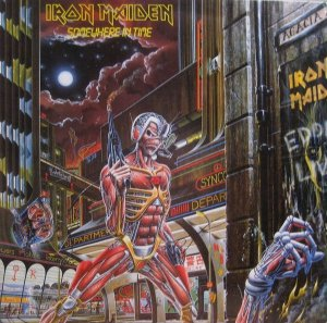 LP - Iron Maiden – Somewhere In Time (Novo - Lacrado) (Importado EU)