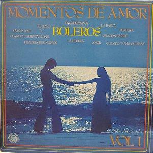 LP - Momentos de Amor - Boleros - Vol.1 (Vários Artistas)