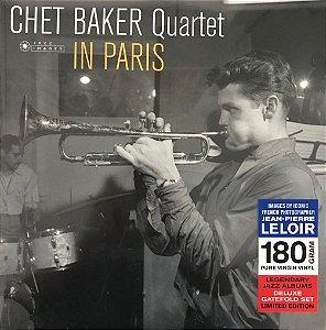 LP - Chet Baker Quartet – In Paris - Novo (Lacrado) (Importado)