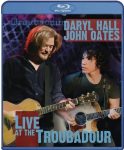 Blu-ray - Daryl Hall & John Oates Unplugged Live At The Troubadour - Novo (Lacrado)