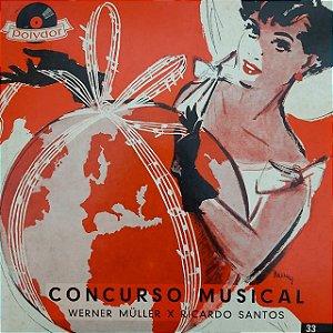 "LP - Werner Müler - Concurso Musical (10"")"