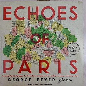 "LP - George Feyer – Echoes Of Paris (Importado US) (10"")"