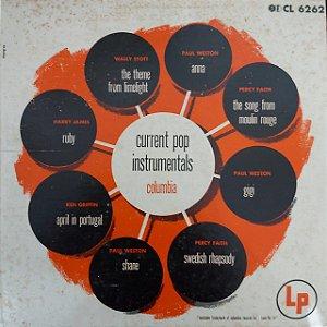 "LP - Current Pop Instrumentals (Vários Artistas) (Importado US) (10"")"