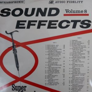 LP - Sound Effects, Vol. 8
