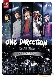 DVD - One Direction - Up All Night - The Live Tour
