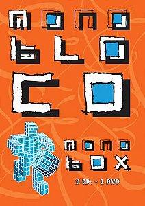 DVD - Monobloco - Monobox (Box 3CDs + 1 DVD)
