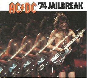 CD - AC/DC – '74 Jailbreak (Novo - LACRADO)