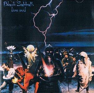 CD - Black Sabbath – Live Evil (Novo - LACRADO)