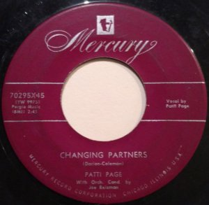 COMPACTO - Patti Page – Changing Partners / Don't Get Around Much Anymore