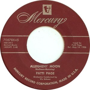 COMPACTO - Patti Page – Allegheny Moon / The Strangest Romance