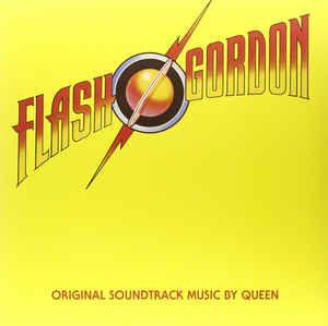 LP - Flash Gordon - Queen (TSO) (STANDALONE - BLACK VINYL) IMP