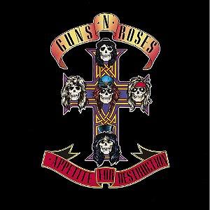 CD - Guns N' Roses – Appetite For Destruction (Novo - Lacrado)