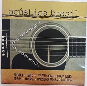 CD - Acústico Brasil (Vários Artistas)