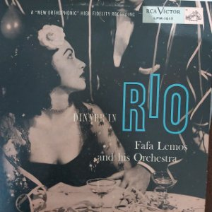 LP - Fafa Lemos And His Orchestra – Dinner In Rio