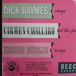 "LP - Dick Haymes – Irving Berlin Songs (Importado US) (10"")"