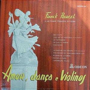 """LP - Franck Poulcel - Amor, Dança e Violinos (10"""")"""