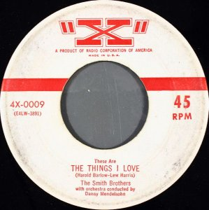 COMPACTO - The Smith Brothers  – These Are The Things I Love / Echo Bonita