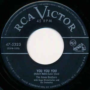 COMPACTO - The Ames Brothers – You You You / Once Upon A Tune