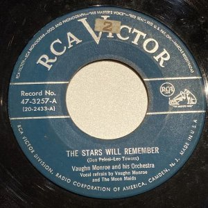 COMPACTO - Vaughn Monroe And His Orchestra – Remember / Thanks For The Memory