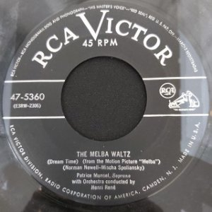 COMPACTO - Patrice Munsel – Is This The Beginning Of Love / The Melba Waltz (Importado US)