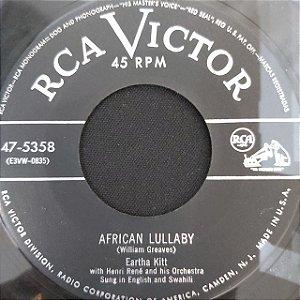 COMPACTO - Eartha Kitt With Henri René's – C'est Si Bon / African Lullaby (Importado US)