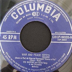 COMPACTO - Vic Damone – Speak My Love / War And Peace (Importado US)