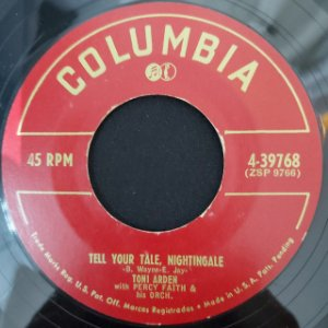 COMPACTO - Toni Arden - Take My Heart / Tell Your Tale, Nightingale (Importado US)