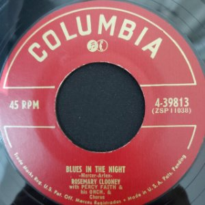 COMPACTO - Rosemary Clooney – Blues In The Night / Who Kissed Me Last Night? (Importado US)