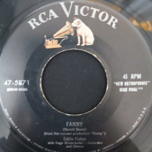 COMPACTO - Eddie Fisher – Count Your Blessings / Fanny (Importado US)