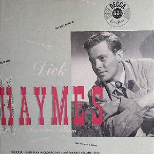 """LP - Dick Haymes – Souvenir Album (Importado US) (10"""")"""
