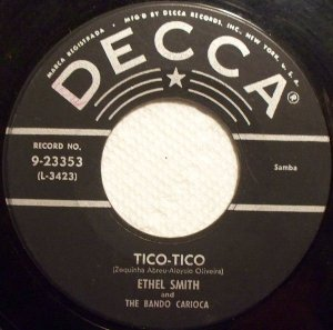 COMPACTO - Ethel Smith - Tico - Tico / Lero Lero / Bem Te Vi Atrevido