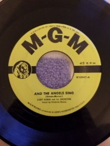 COMPACTO - Ziggy Elman & His Orchestra – And The Angels Sing / Three Little Words