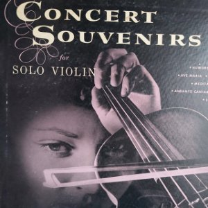 """LP - Louis Kaufman  – Concert Souvenirs For Solo Violin (Importado US) (10"""")"""