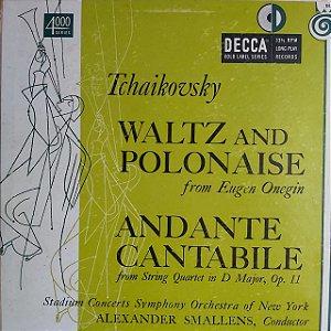"LP - Waltz and Polonaise - Tchaikovsky (Importado US) (10"")"